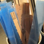 long scrap pieces  of clear plexiglass $1 per pound
